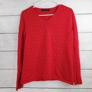 Tommy Hilfiger Long Sleeve Circle Stud Sweater